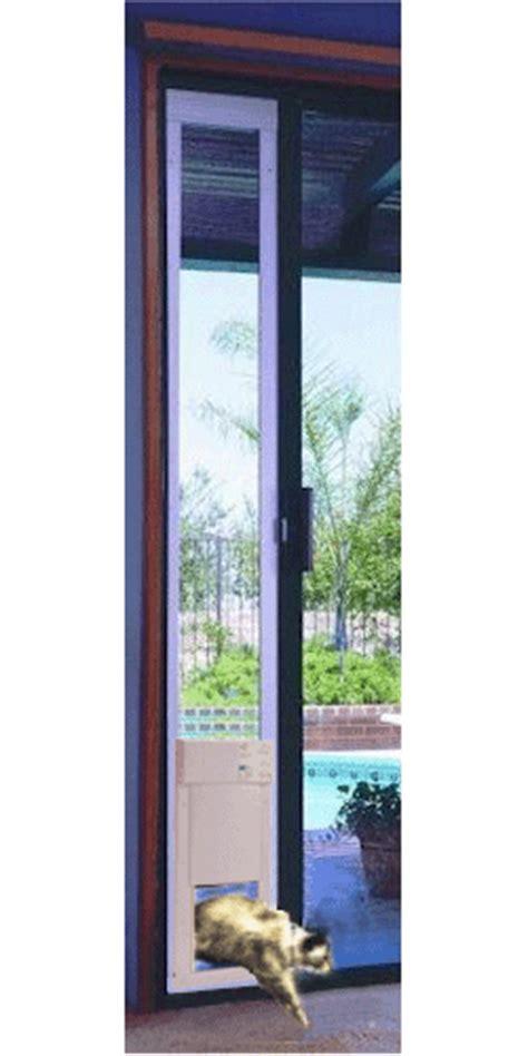 porte automatique pour chien porte automatique pour patio ouverture moyenne grandeur