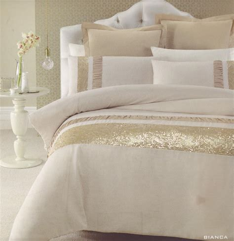 gold bedspreads and comforters bianca gold beige golden sequins queen quilt doona duvet