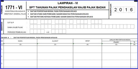 download spt tahunan 2016 download buku form pajak spt bagian 2 tahun 2016 arsip