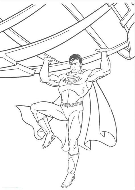 Mewarnai Gambar Superman Si Manusia Besi • BELAJARMEWARNAI