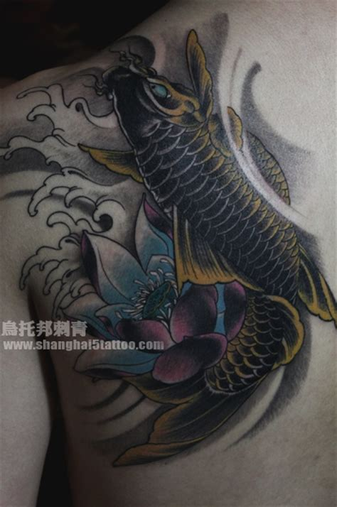 koi fish and lotus flower tattoo designs koi fish and lotus flower koi