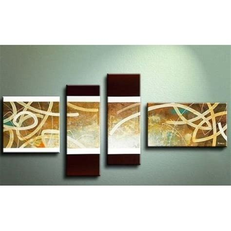 Iv Brown Set quot brown abstract iv quot painting reproductions