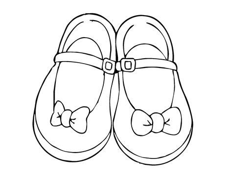 Sepatu All Dan Gambar mewarnai gambar sepatu pita khusus wanita