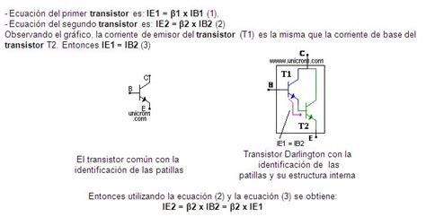 transistor darlington caracteristicas configuraci 243 n darlington monografias