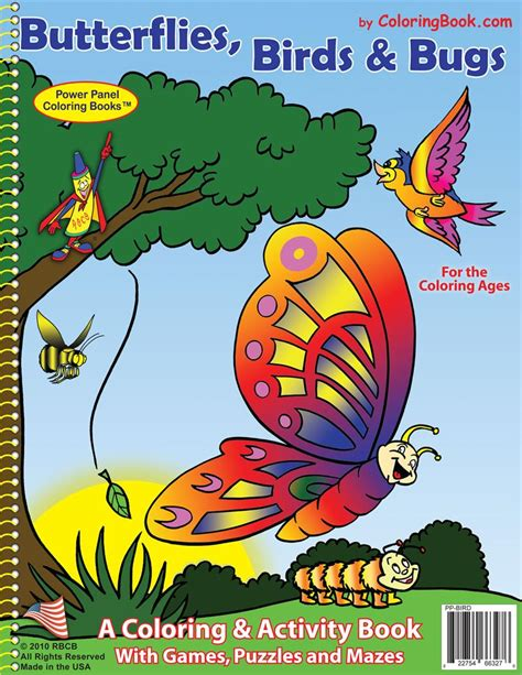 butterfly colors books coloring books butterfly s birds bugs coloring books