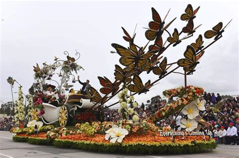 new year parade float display and fireworks flowers colours and more at pasadena s parade the