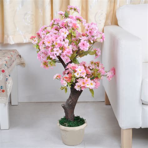 Decorative Trees For The Home by Artificial Decorative Flower Cherry Flower Tree Or Bonsai