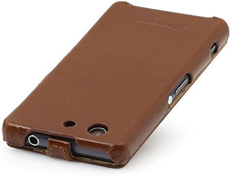 Jual Ultraslim Leather Cover stilgut ultraslim leather for sony xperia z3 compact android authority