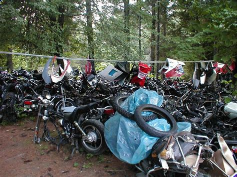 Suzuki Scrap Yard Woody S Cycles Salvage Yard Woody S Cycles