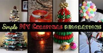top 9 simple and affordable diy christmas decorations