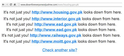 Www Interior Gov Pk by Pakistan Government Servers Messed Up After Security Breach