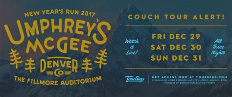 umphreys couch tour umphreys couch tour 28 images nye 2017 couch tour