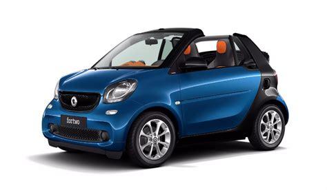 smart car colours smart fortwo cabrio 2017 couleurs colors