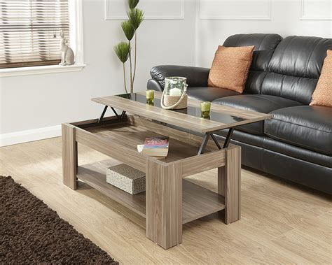 lift up coffee table gloss