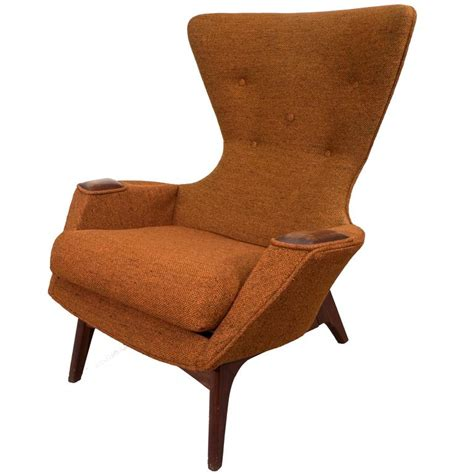 high back winged armchair adrian pearsall high back wing armchair at 1stdibs