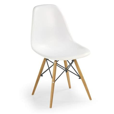 Chaise Blanche Et Bois 2833 by Chaises Blanches Bois