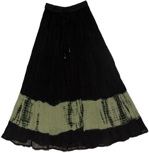 black tie dye skirt limed ash streaks clothing tie dye