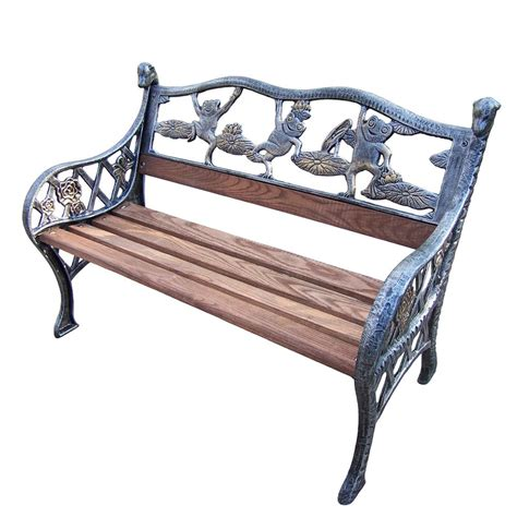 outdoor decorative bench garden decorative bench with frog design hd6009 ap the
