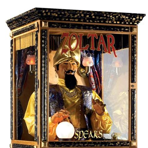 Zoltar A Novelty That Tells Your Fortune And Costs A Small Fortune by Zoltar Animatronic Fortune Teller Machine The Green