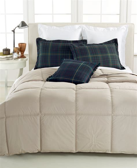 flannel down comforter lauren ralph lauren color down alternative full queen