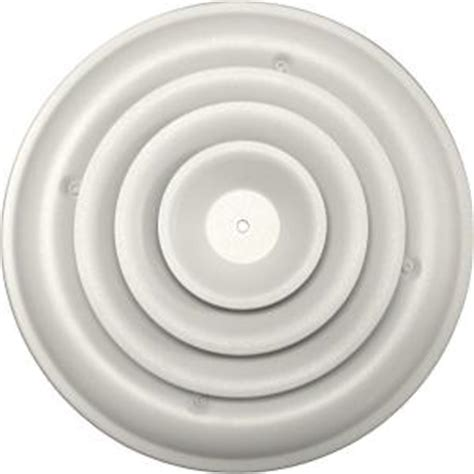 Ceiling Air Vents Home Depot by Speedi Grille 8 In Ceiling Air Vent Register White