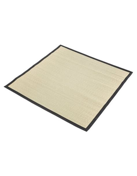 Japanese Mats by Traditional Japanese Goza Mat For Meditation 90 X 90 Cm