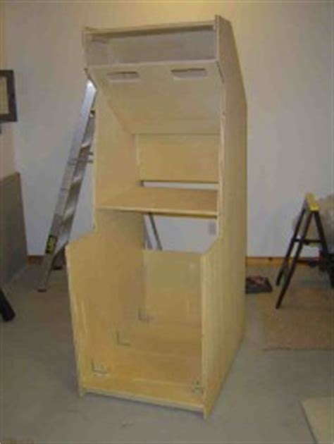 Make Your Own Arcade Cabinet by Woodwork Build Your Own Arcade Cabinet Plans Pdf Plans
