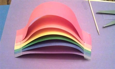 How To Make A Construction Paper - construction paper rainbow woo jr activities