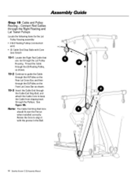 bowflex xtreme 2 se assembly manual page 26