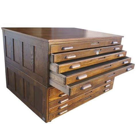 Flat File Storage Cabinet Wood Cabinets Matttroy Flat File Cabinet Wood