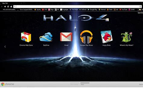 theme chrome winner the best video game browser themes and more brand thunder