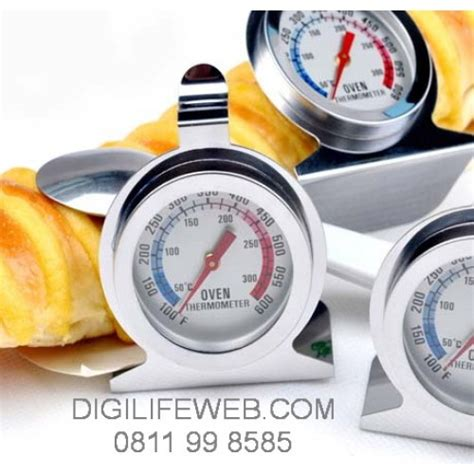 Termometer Untuk Oven Tangkring oven thermometer termometer 0 300 celcius