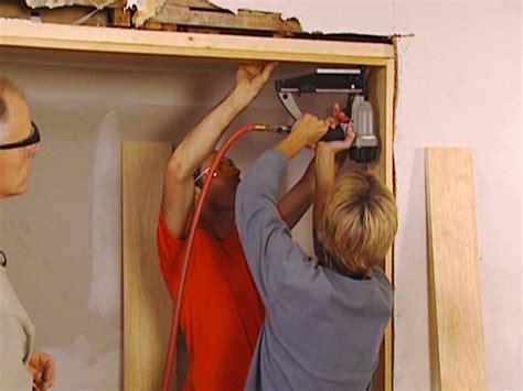 Installing Door Jamb how to install a new door jamb how tos diy