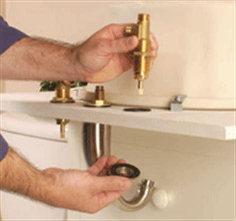 installing a bathtub faucet how to install a bathroom faucet hometips