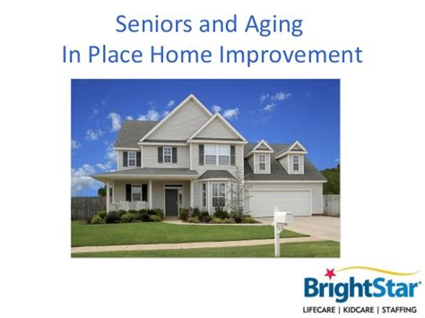 seniors and aging in place home improvement