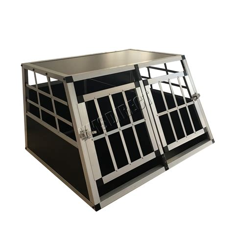 kennel sections foxhunter aluminium dog pet puppy cage kennel travel