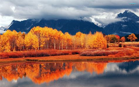 fall landscape autumn landscape wallpaper