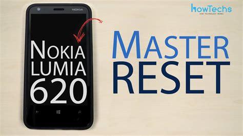 how to hard reset nokia lumia 625 youtube nokia lumia 620 master reset youtube