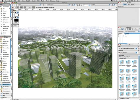 Vectorworks Landscape Design Software Aec On Macs Aec Insight Column Cadalyst