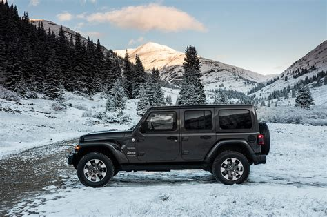 jeep wrangler unlimited 2018 2018 jeep wranger unlimited sahara automobile magazine