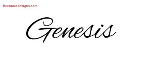 genesis name tattoo designs cursive name tattoo designs genesis download free free