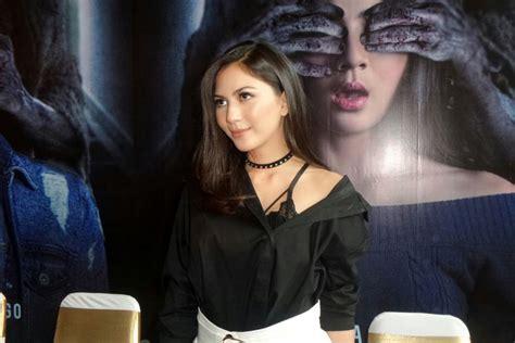 film indonesia jessica mila jessica mila sempat dicolek makhluk halus di film mata