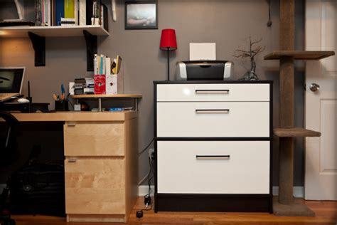 ikea home office furniture how to transform busy home office with flat file cabinet