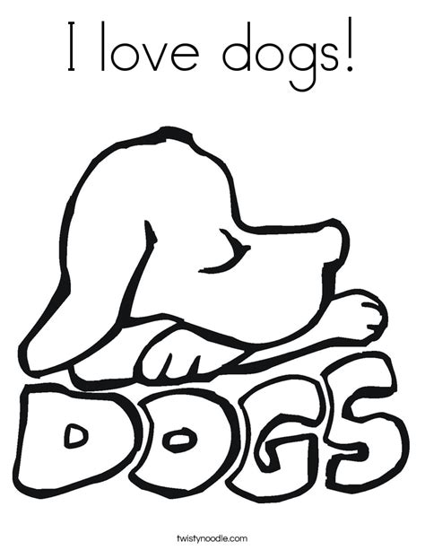 i love you puppy coloring pages i love dogs coloring page twisty noodle