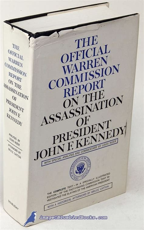 warren report book the official warren commission report on the assassination