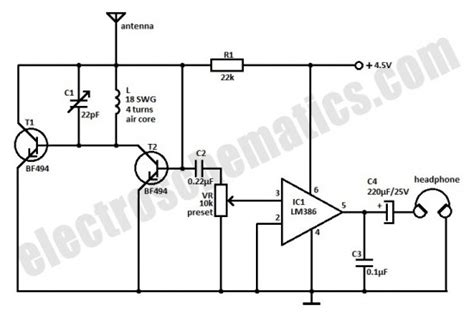 equivalent transistor for bf199 small fm radio circuit