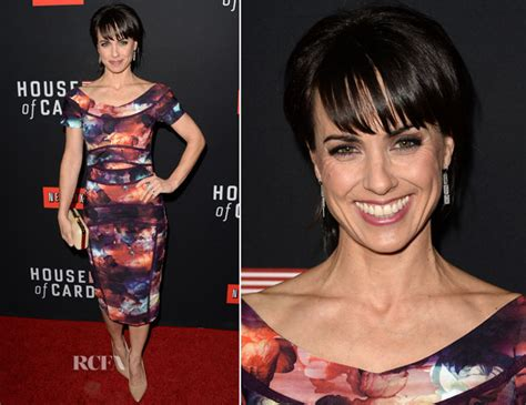 constance zimmer house of cards constance zimmer in nicole miller house of cards season 2 screening red carpet