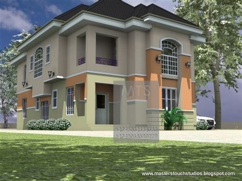 Small House Designs In Nigeria Best Mrs Ifeoma 4 Bedroom Duplex Pictures Of Duplex Houses