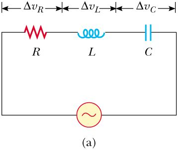 rlc parallel circuit with resistance in series with the inductor an rlc series circuit