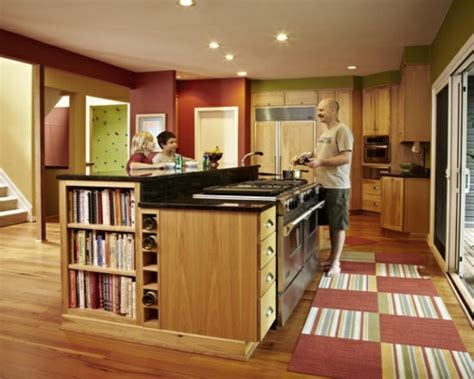 kücheninsel ideen aufbewahrung k 252 chenschrank design